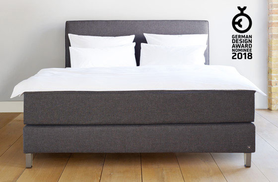Boxspringbett metall  Bruno Boxspringbett - Gewinner German Design Award 2018
